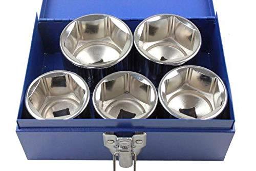 US PRO Tools 3384 - Juego de llaves de vaso (5 unidades, 3/4