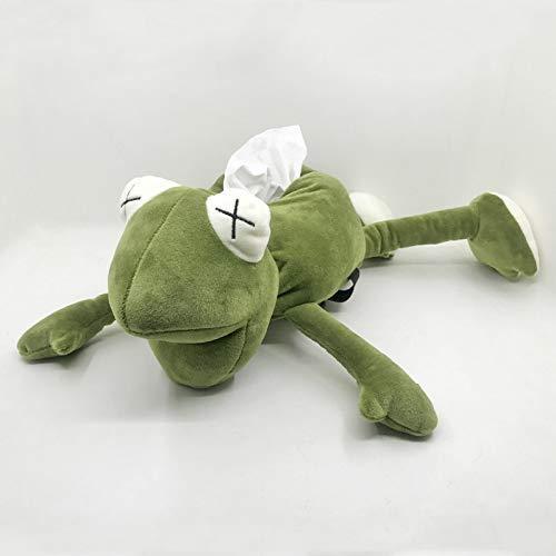 FGBV Plüschspielzeug 45 cm lustige Kawaii Frosch plüsch Spielzeug triver Tissue Box Abdeckung Handtuch Papier Halter Auto Hause küche Schlafzimmer Spielzeug dekor Geburtstagsgeschenk Manmiao