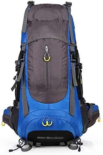 Mochilas de senderismo de gran capacidad de viaje al aire libre montañismo bolsa impermeable hombro mochila deportiva mochila para senderismo escalada