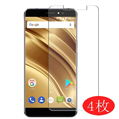 【4 Pack】 Synvy Screen Protector for Ulefone S8 / S8 Pro 0.14mm TPU Flexible HD Clear Case-Friendly Film Protective Protectors [Not Tempered Glass] New Version