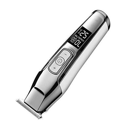 JFW-Haarschneidemaschine LCD Display 0mm Baldheaded Bart Haarschneider für Männer DIY Cutter Elektrische Haarschnitt Maschine