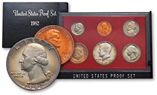 1982 United States Mint Proof Set Original Government Packaging Superb Gem Uncirculated