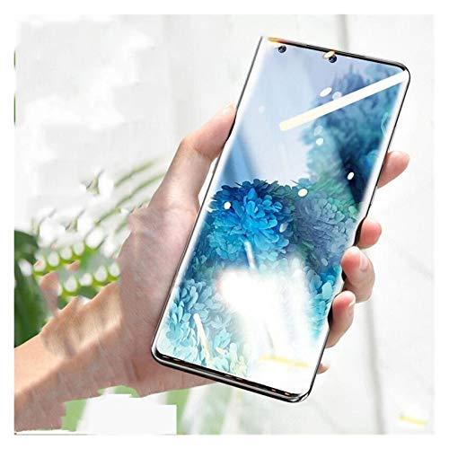 Protector de pantalla UV líquido totalmente pegado vidrio templado para Samsung Galaxy S20 S10 S8 S9 Plus S10E S20 Ultra Note 10 8 9 Plus (color: para S7 Edge, tamaño: vidrio templado)