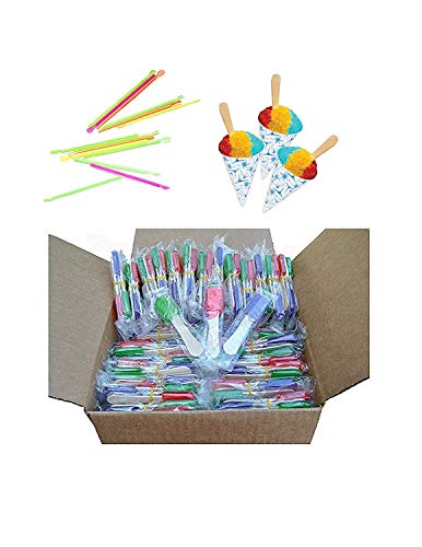 Perfect Stix Snow Cone Cupキット 50 Spoons, 50 Cups, 50 Spooz Snow Cone Cup Kit - 50ct 150