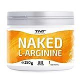 TNT – 250g Reines L Arginin Pulver – Premium Arginin Hochdosiert – Top Löslichkeit - Laborgeprüft - Premium Rohstoffe -