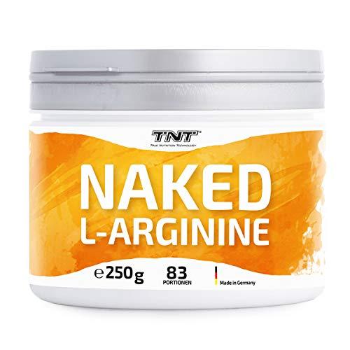 TNT – 250g Reines L Arginin Pulver – Premium Arginin Hochdosiert – Top Löslichkeit - Laborgeprüft - Premium Rohstoffe