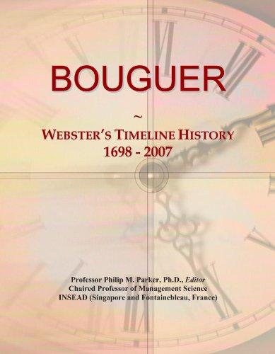 BOUGUER: Webster's Timeline History, 1698 - 2007