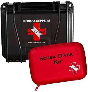 Dive 1st Aid Scuba Diver Kit Black Seahorse Hard Case