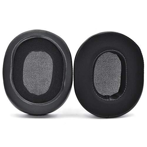 kdjsic Auriculares Almohadillas para los oídos Almohadillas Esponja Cojín de Espuma Suave para Auriculares Technica ATH-M50 M40 M40S M30 M35 M20