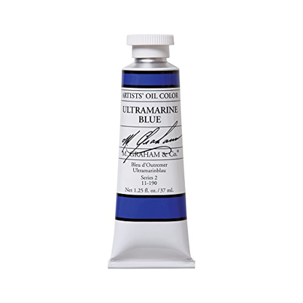 M. Graham Artist Oil Paint Ultramarine Blue 1.25oz/37ml Tube