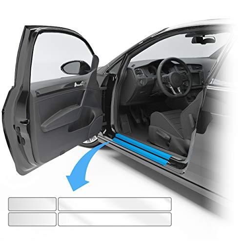 Blackshell® Lackschutzfolie passend für VW Golf Variant & Limousine | Typ AU | Bj. 2012-2019 (5-türer) Transparent - passgenaue Einstiegsleistenschutz Folie inkl. Set für Folierung
