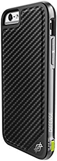 iPhone 6s PLUS Case & iPhone 6 PLUS Case, X-Doria Defense Lux Military Grade Drop Tested Protective Case [Black Carbon Fiber]