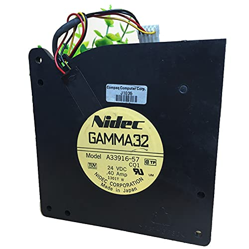 Cooling fan For Nidec GAMMA32 A33916-57,12032 12cm DC24V 0.4A 12cm Turbo Fan