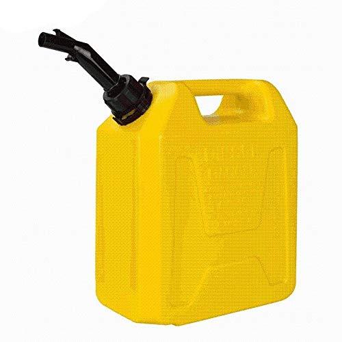 CHQYY Treibstofftank Kraftstofftanks Benzineimer - Tragbarer Dicker Benzineimer aus Kunststoff 10L 5L Auto Motorrad Reservekraftstofftank Dieseltopf 5L (Size : 10L)