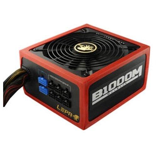 LEPA B1000-MB power supply unit - power supply units (100-240 V, 20+4 pin ATX, 47-63 Hz, 12V,+3.3V,+5V,+5Vsb,12V, Active, ATX)