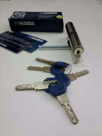 KABA Expert High Security Euro Profile Cylinder Lock with 5 Keys (30/50)