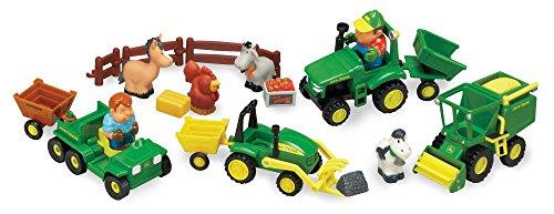 John Deere Tomy 1st Farming Fun  Fun on The Farm Playset  Green