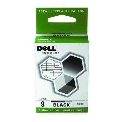 Dell MK990Ink Cartridge–Ink Cartridge for Printers (Black, Inkjet)