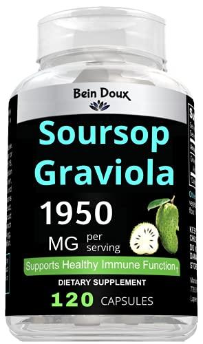 Soursop Graviola Guanábana Extract 120 Organic...
