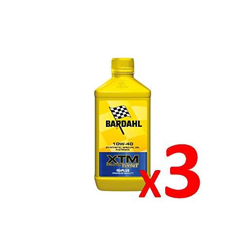 Bardahl Aceite Mot XTM Scooter Synt 10W-40 4 tiempos sintético 1 litro 361040 (3)