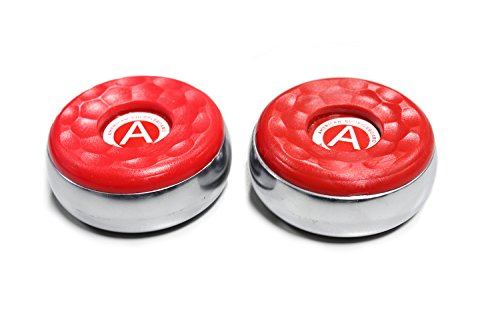 Affordable American Shuffleboard Pucks -Red- 2-5/16-Set of 2