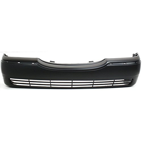 MBI AUTO - Primered, Front Bumper Cover Fascia for 2003-2011 Lincoln Town Car 03-11, FO1000528