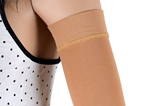 ASSISTICA® Medizinischer Mastektomie Kompressionsärmel, Anti-Ödem Arm Unterstützung für Damen nach der Operation (XL)