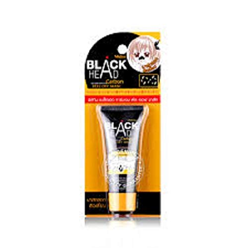 Mistine Blackhead Remover Carbon Charcoal Peel Off Mask 10 G. X 2 Pieces