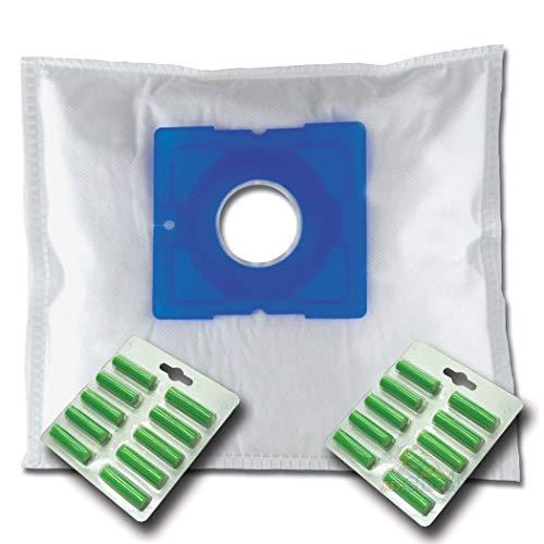 20 x Mr.Clean Staubsaugerbeutel + 20 Duftstäbe geeignet für Progress Stuttgart PC 3717 PC 3720 PC 3726 PC 3727