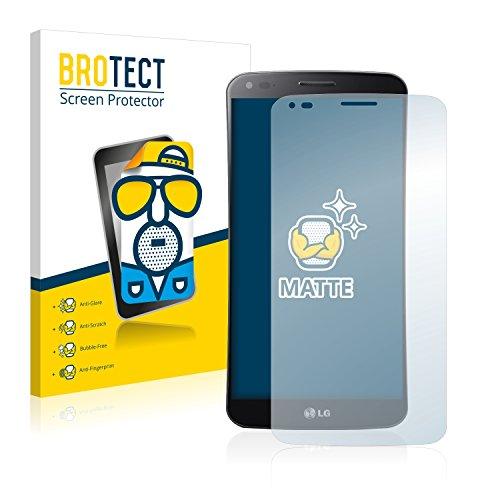 BROTECT 2X Entspiegelungs-Schutzfolie kompatibel mit LG G Flex D955 Bildschirmschutz-Folie Matt, Anti-Reflex, Anti-Fingerprint