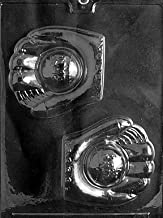 Cybrtrayd S049 Baseball Glove and Ball Chocolate Candy Mold with Exclusive Cybrtrayd Copyrighted Chocolate Molding Instructions