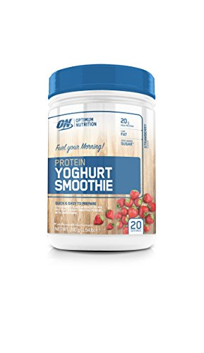 Optimum Nutrition Smoothie Di Proteine Dello Yogurt, Fragola - 700 g