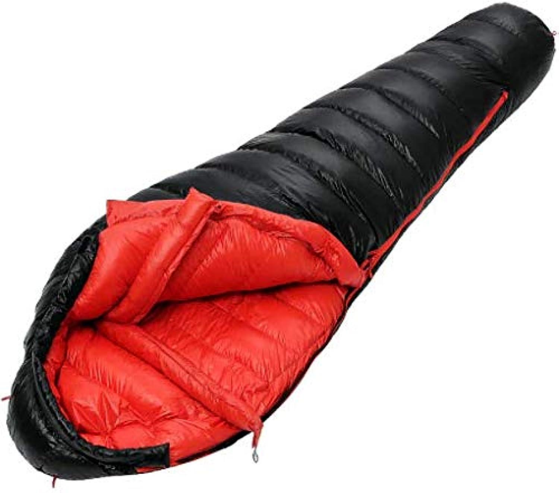 Mishuai Outdoor Daunenschlafsack ultraleichte Mama Entendaunen tragbare Dicke warme Indoor Camping Erwachsene Schlafsack B07MTHJX1Z  Ausgezeichnet