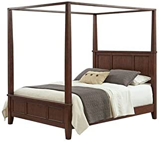 Chesapeake Classic Cherry King Canopy Bed by Home Styles