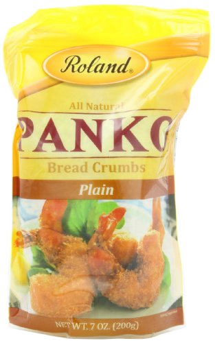Roland Foods Bread Crumbs, Plain Panko, 7 Ounce (Pack of 6)