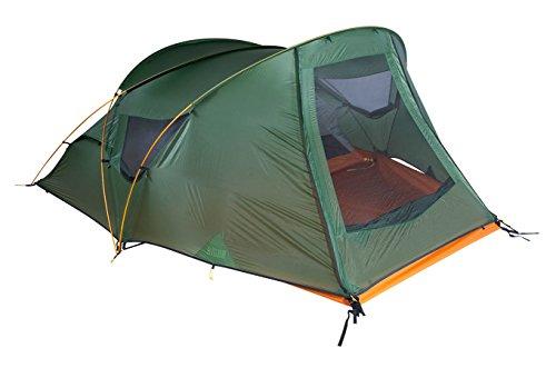 Nigor Great Auk 2 Grün, Kuppelzelt, Größe 2 Personen - Farbe Willow Bough - Burnt Orange