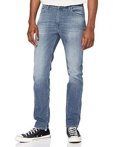 Lee Rider Tonal Jeans Vaqueros, Visual Shark, 30W / 30L para Hombre