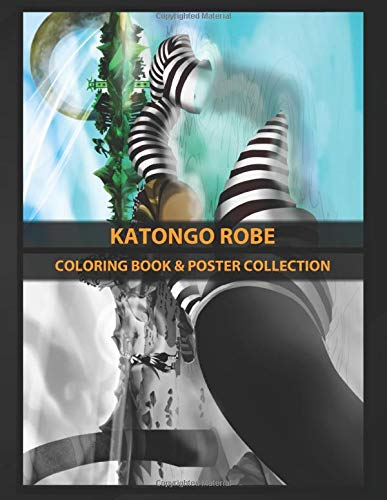 Coloring Book & Poster Collection: Katongo Robe Mami Water Spirit Of Fertility And Cleansing In The Or Anime & Manga