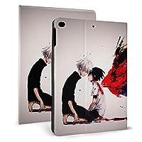 東京喰種 iPad Mini4/Mini 5 2019 ケース 7.9インチ ケース 角度調節可能 保護カバー 軽量 薄型 二つ折タイプ 全面保護型 Apple iPad 手帳型 ケース PU スタンド機能