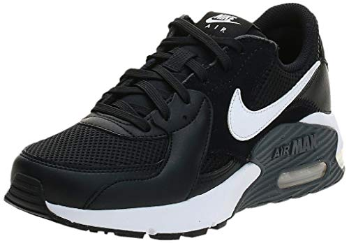Nike Damen Air Max Exceed Sneaker, Black/White-Dark Grey, 37 EU