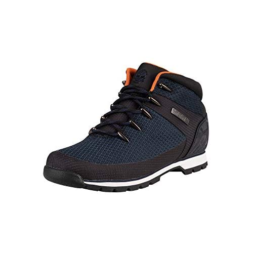 Timberland Men's Euro Sprint Fabric Waterproof Hiker Boots, 40 EU