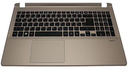 bester der welt Original Acer German (DE) Tastatur + Champagner Aspire V5-573 Serie Top Case 2021