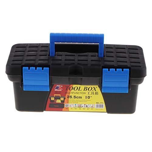 F Fityle Werkzeugkoffer leer, ABS-Kunststoff Kofferschale, tragbar Werkzeugkiste