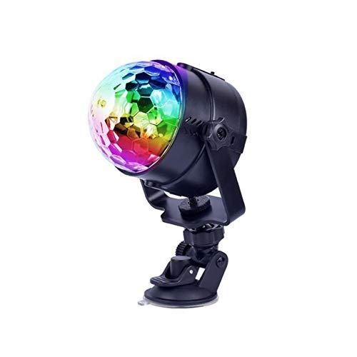 Laogg Discokugel Party Lampe, Auto-Disco DJ-Stadium, das LED-RGB-Kristallkugel-Birnen-Licht-Partei beleuchtet