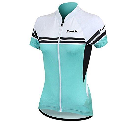 Maillot De Ciclismo Verde  marca Santic