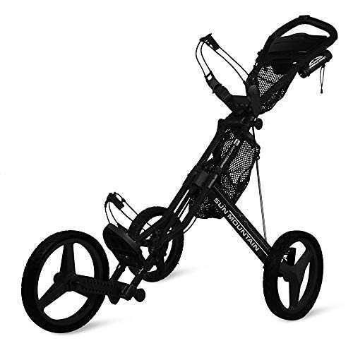 cheap Sun Mountain Speed Cart Gx Wheelbarrow Black / Black, Large