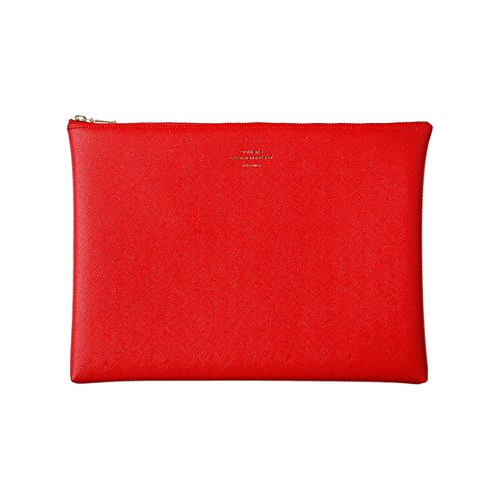 [DELFONICS] Quitterie Multifunctional pouch size L QR11 RED