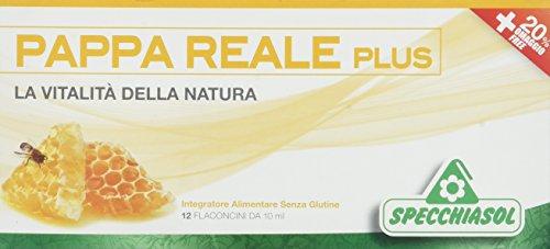 Specchiasol Pappa Reale Plus, 12 Flaconcini da, 10 ml