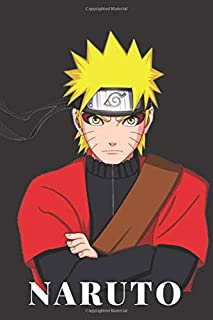 Naruto: Journal: A 110 Page Naruto Themed Colorful Diary and Notebook,  Best For Kids And Cool For Everyone (6x9)