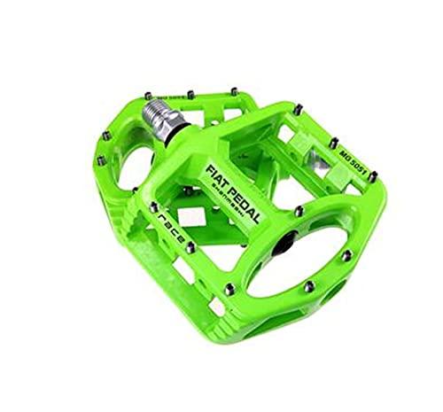 LANCYG Pedales MTB Pedales de Bicicleta de Carretera de aleación de magnesio Ultralight MTB Rodamiento Pedal de Bicicleta Piezas de Bicicleta Accesorios 8 Color Opcional Pedales Bicicleta montaña